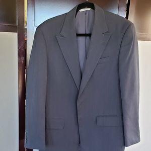 ARROW MENS SUIT JACKET DRESS BLACK 42R 4 BUTTON